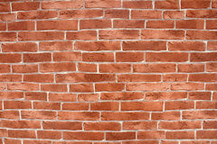 Brick background. Close up Brick background and texture Stock Photography