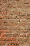 Brick background. Original old Tuscan brick wall from Tuscany Stock Images