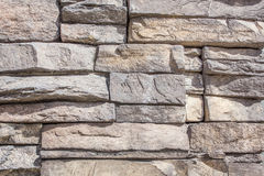 Brick background. S with cracks and rough texture Stock Image