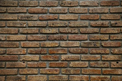 Brick background. brick background and empty area for text. wall brick in retro style. old brick or crack brick background Royalty Free Stock Photos