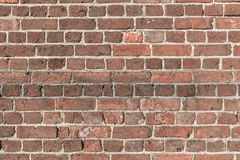 Brick background. Background of old vintage brick wall Stock Photography