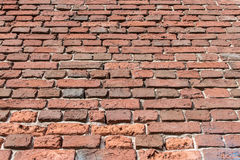 Brick background. Old brick wall as a background image Royalty Free Stock Photos