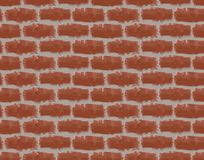 Brick background. A seamless background with a bricklaying Stock Photography