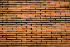 Brick Background Texture. The red brick wall in one place Royalty Free Stock Photos