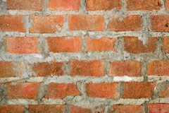Brick background. Background and texture of old vintage brick wall Royalty Free Stock Images
