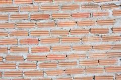 Brick background. Wall craft design Royalty Free Stock Photos