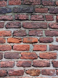 Brick background. Brick walls in Europe, beautiful and strong Stock Image