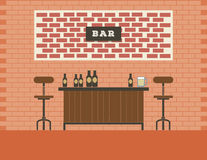 Brick bar Stock Image