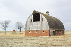 brick barn Fotografia Stock