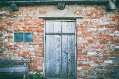 Brick barn Royalty Free Stock Photo