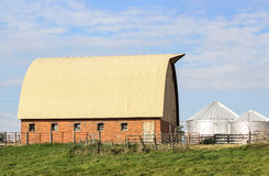 Brick Barn Stock Image