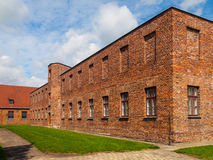 Brick barracks Royalty Free Stock Photo