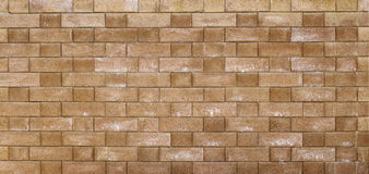 Brick barrier Royalty Free Stock Photography