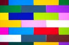 brick barwiąca ściany Wzór lub tło obraz stock