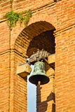 Brick bell tower Royalty Free Stock Photo