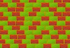 Brick bio wall Stock Photography