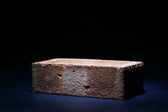 Brick on Black royalty free stock photo