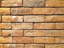 Brick blackground. The wall which made from bricks Royalty Free Stock Photography