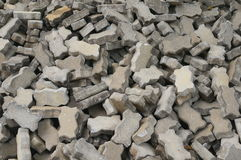 Brick Block Stock Photography