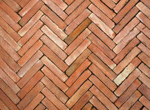 Brick block floor. Royalty Free Stock Photography