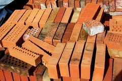 Brick block Royalty Free Stock Photography