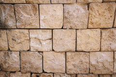 Brick block wall background Royalty Free Stock Images