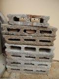 Brick blocks Royalty Free Stock Photo