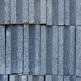 Brick blocks stacked vertically Royalty Free Stock Photos