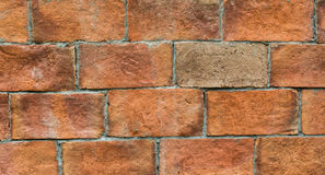Brick and Brick difference. Royalty Free Stock Image