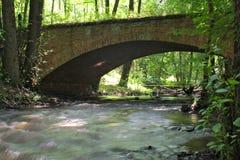 Brick bridge. Stock Image