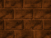 A brick brown wall texture Royalty Free Stock Images