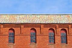 Brick Building Stock Photo