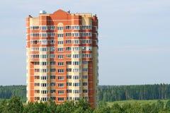 Brick building Stock Image
