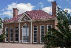 Mount Vernon Greenhouse Washington stock photos