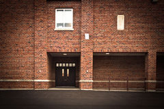 Brick Building Facade Royalty Free Stock Images