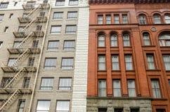 Brick Building Facades Royalty Free Stock Photography