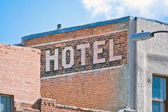 Brick Building Hotel Royalty Free Stock Photography