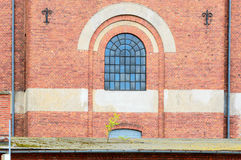 Brick building Stock Images