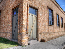 Brick building Royalty Free Stock Photography