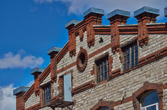 Brick buildings in the historic Old Town Royalty Free Stock Image