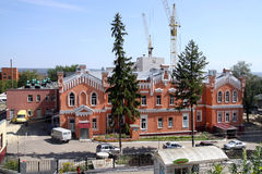 Brick buildings of the 18th century in Penza Royalty Free Stock Image