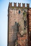 Brick Castles at Verona, Italy Stock Images