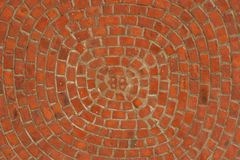 Brick ceiling Stock Image