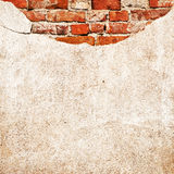 Brick cement wall stock photos