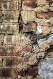Brick and cement Wall Royalty Free Stock Images