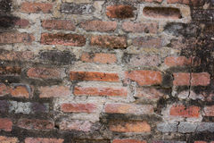 Brick and cement wall. Stock Image