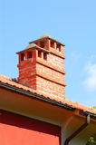 Brick Chimney Stock Photo