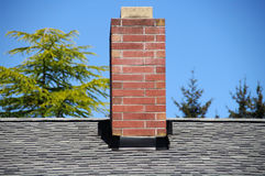 Brick Chimney Royalty Free Stock Image