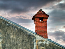 Brick chimney Royalty Free Stock Images
