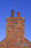 Brick chimney stock images